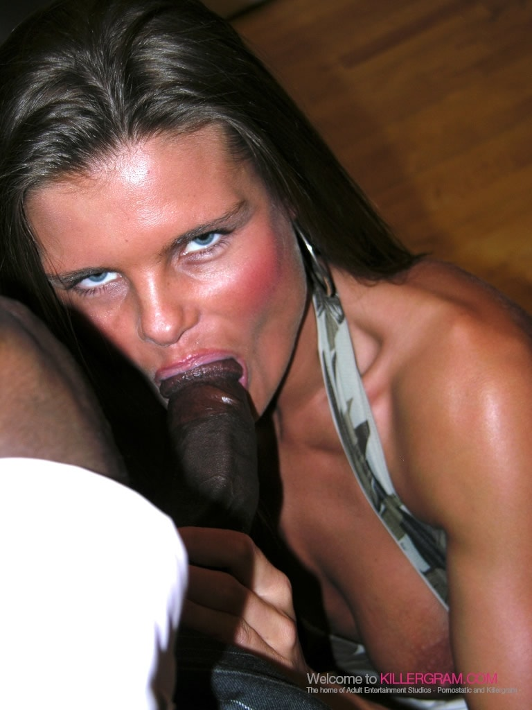Black cock on white ussy