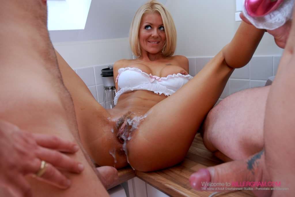Dogging woman squirts on cock 10