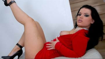 Tina Marie - A Red Hot Club Babe