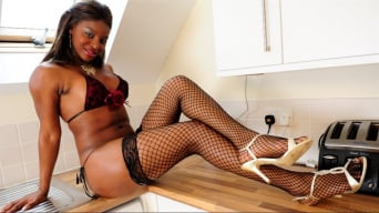 Jasmine Webb in 'The Hardcore Handy Man'