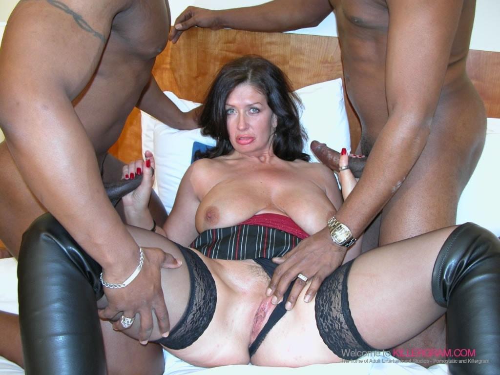 Mature amateur group sex video
