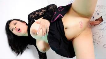 Tigerr Benson in 'An Asian Glory Hole Slut'